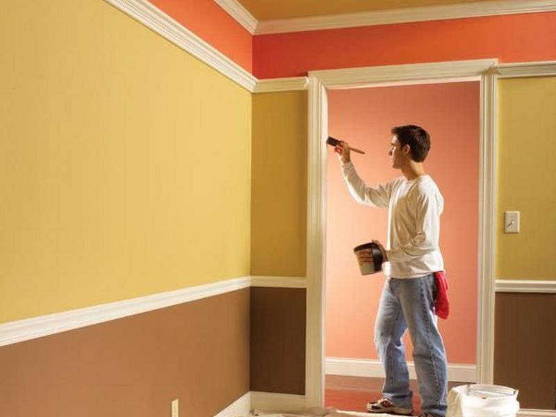 Cách làm phẳng bề mặt tường trước khi sơn