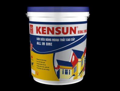 Sơn siêu bóng ngoại thất cao cấp KENSUN